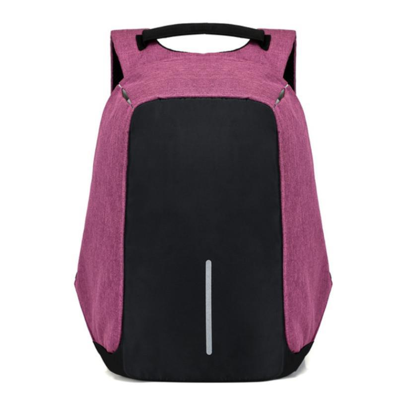 loomrack Antitheft Backpack Backpacks Pruple