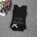 loomrack Baby Girl's Little Black Dress Onesie Clothing Sets