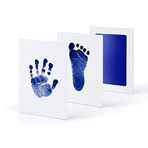 loomrack Baby Hand & Footprint Inkless Ink Pad Baby Accessories Blue