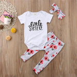loomrack Big Sister Little Sister Matching Outfit - Floral Speckle Matching Outfits