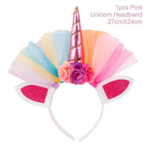 loomrack Children's Unicorn Headpiece Party DIY Decorations Style 15