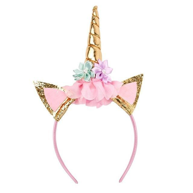 loomrack Children's Unicorn Headpiece Party DIY Decorations Style 5