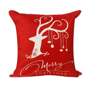 loomrack Christmas Cushion Covers Christmas Accessories Red elk