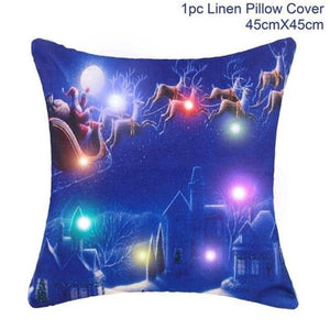 loomrack Christmas Cushion Covers Christmas Accessories Royal Blue