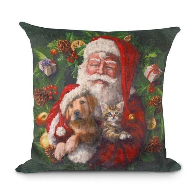 loomrack Christmas Cushion Covers Christmas Accessories Style 10