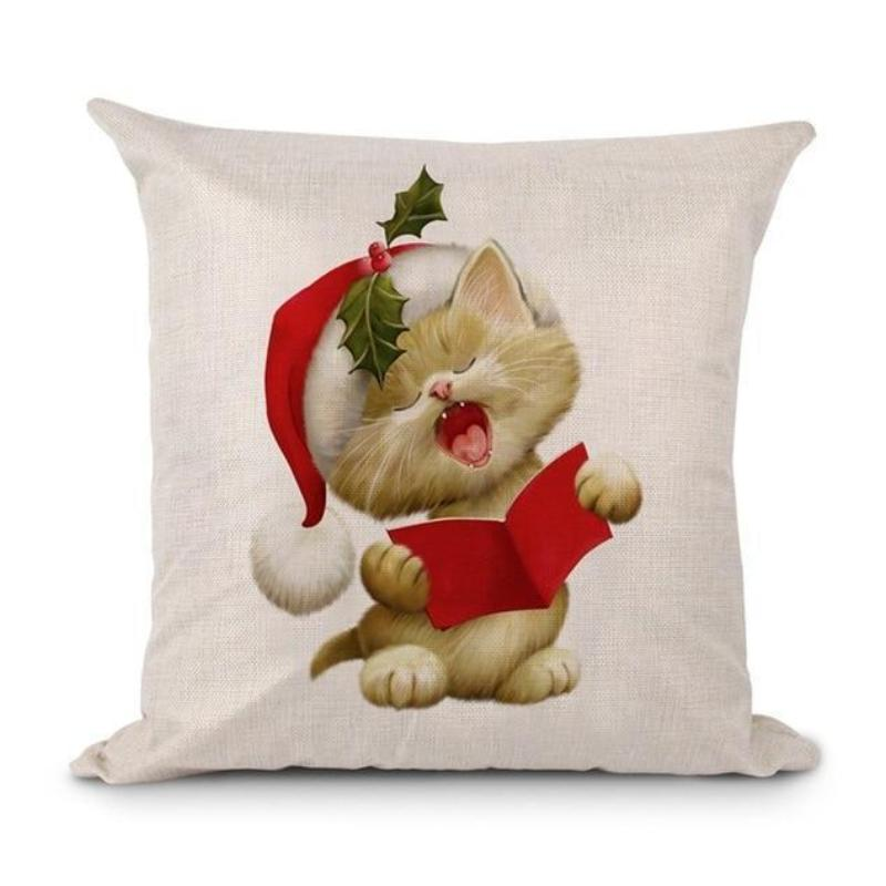 loomrack Christmas Cushion Covers Christmas Accessories Style 4