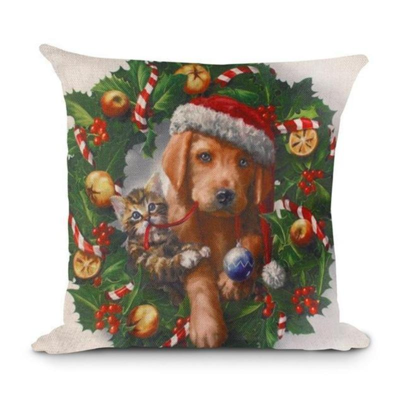 loomrack Christmas Cushion Covers Christmas Accessories Style 8