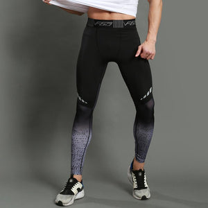 loomrack Concrete Men's Compression Running Leggings Running Tights