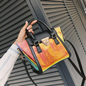 loomrack Cosmic Transparent Street Style Shoulder Bag Shoulder Bags