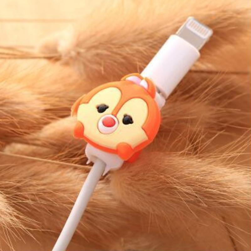 loomrack Fancy Cable Charger Protector Mobile Phone Accessories Little Ox - Orange