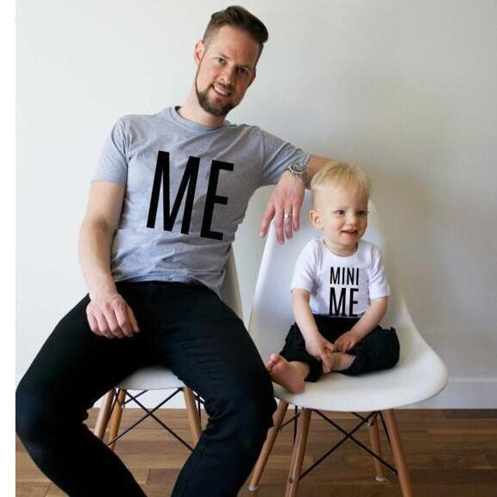loomrack Father/Son Matching Tees (Big Man01/Little Man01, Mini Me/Me, CTRL+C/CTRL+V) Family Matching Outfits Mini Me/Me / Dad M