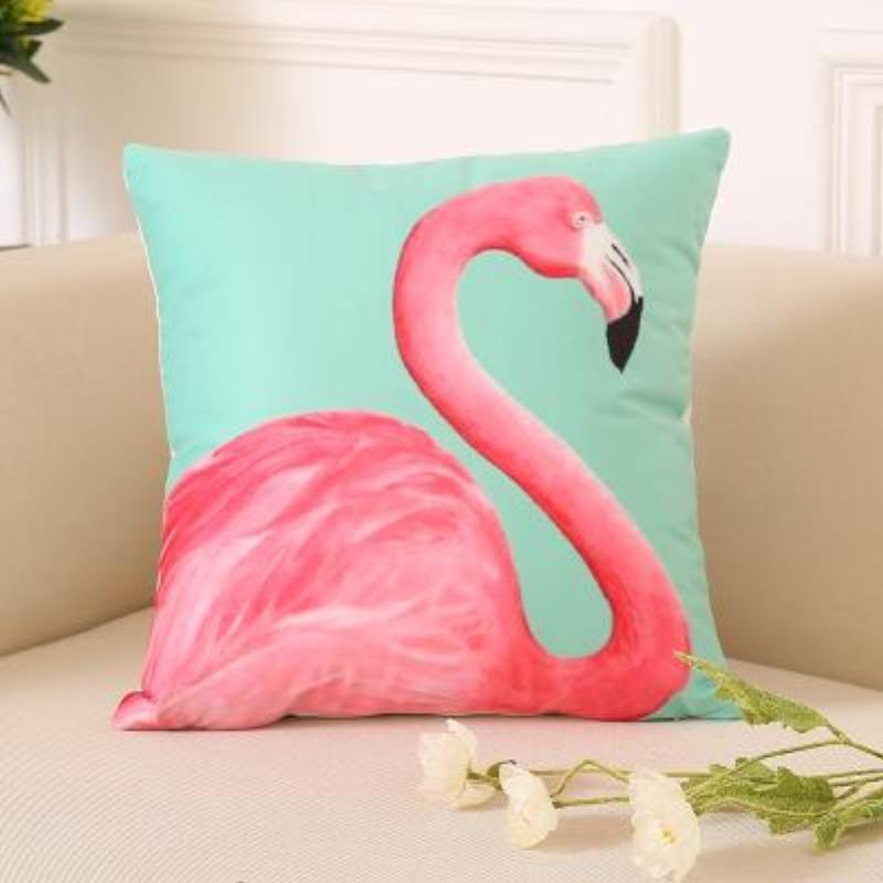 loomrack Flamingo Pillow Covers Cushion Cover D