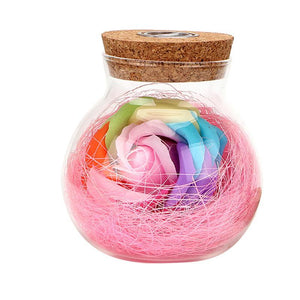 loomrack Flower Jar LED Light Night Lights Pink