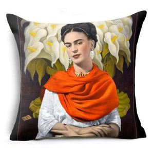 loomrack Frida Kahlo Cushion Cover Home Accessories 43X43CM / Cushion Cover - 5