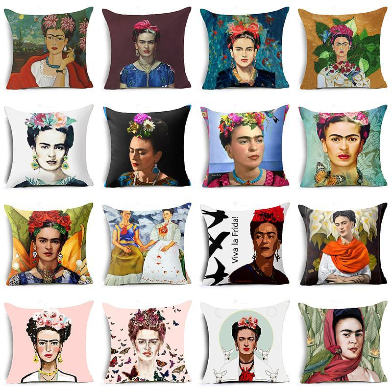 loomrack Frida Kahlo Cushion Cover Home Accessories