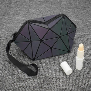 loomrack Geometric Foldable Makeup Bag Cosmetic Bags