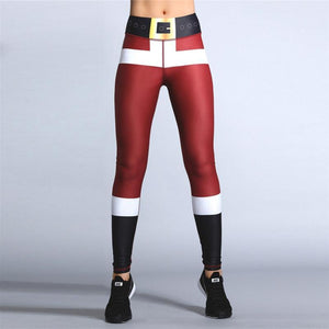 loomrack High Waist Christmas Leggings Leggings