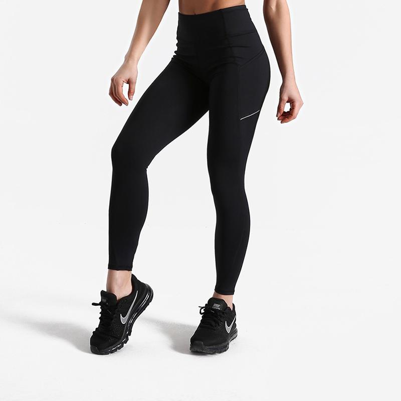 loomrack High Waist Squat Proof Leggings Leggings Black / XS