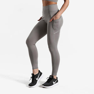loomrack High Waist Squat Proof Leggings Leggings Gray / XS