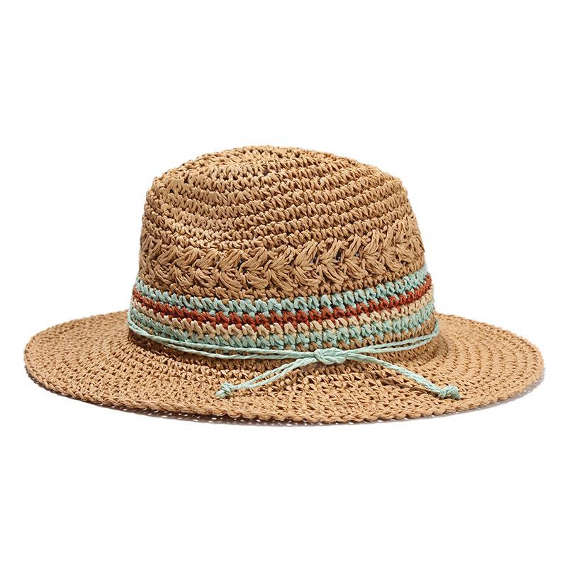 loomrack Jazz Handwoven Straw Travel Hat Sun Hats