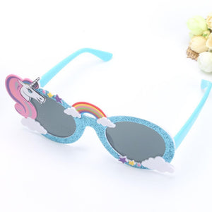 loomrack Kid's Unicorn Sunglasses Party DIY Decorations
