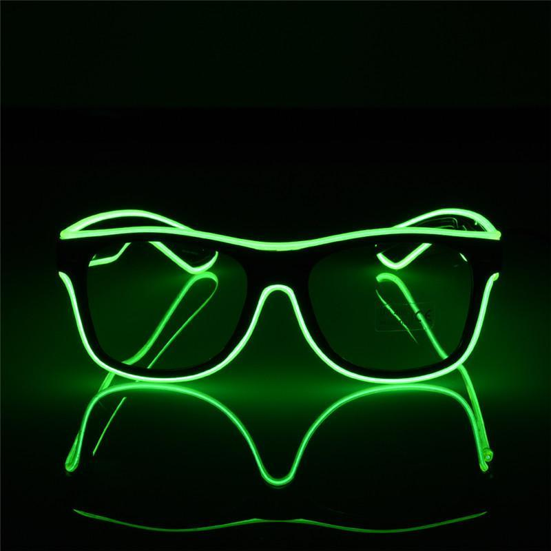 loomrack LED Luminous Party Sunglasses Glow Party Supplies