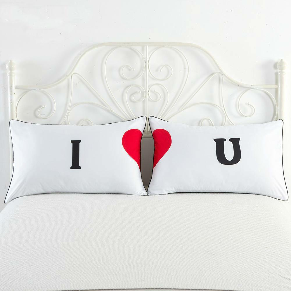 loomrack Love Pillowcase sets Pillow Case I Love You