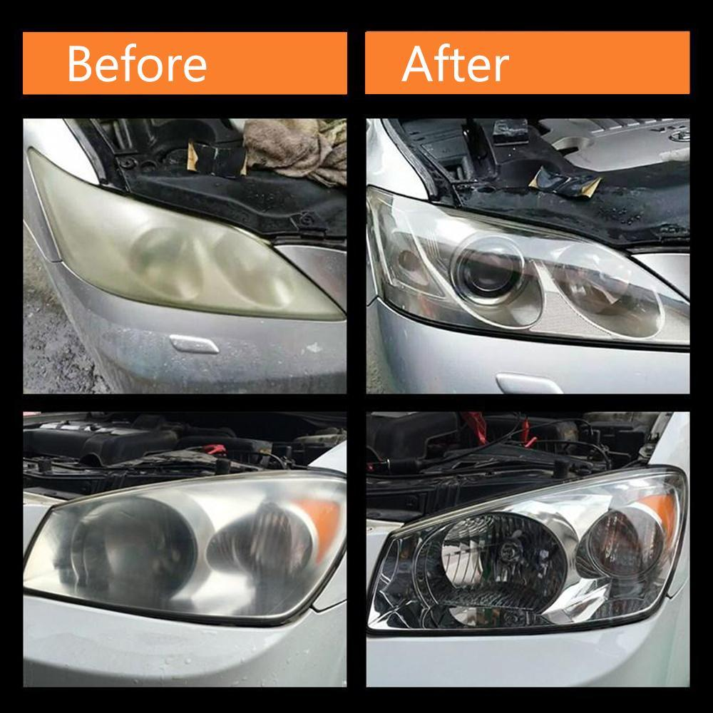 loomrack Magic Headlight Restoration Kit DIY - Clean Foggy Headlights In Minutes Headlight Cleaners