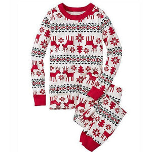 loomrack Matching Family Christmas Pajamas - Reindeer Set for Couples, Families or Kids Matching Outfits Dad / S
