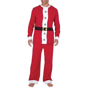 loomrack Matching Family Christmas Pajamas - Santa Suit for Families or Couples and Dog or Cat Matching Outfits