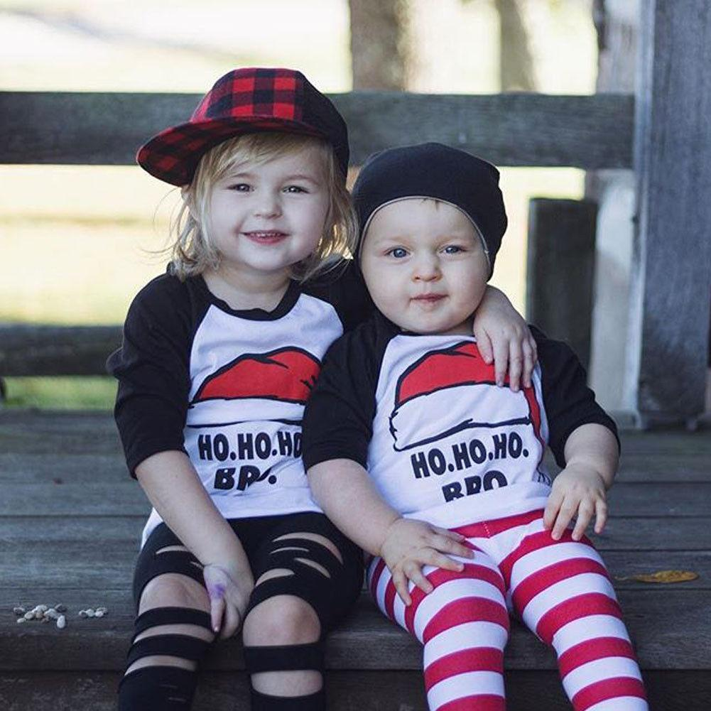 loomrack Matching Kids Christmas - Ho Ho Ho Kids T-shirts Matching Outfits