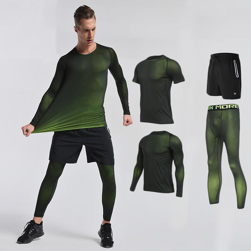 loomrack Men's Compression Full Sets Running Sets