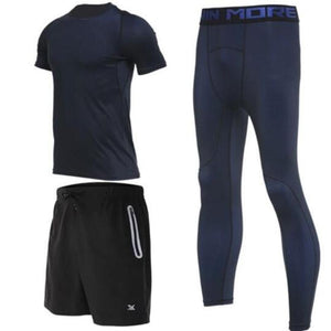 loomrack Men's Compression Full Sets Running Sets TC3422 / M