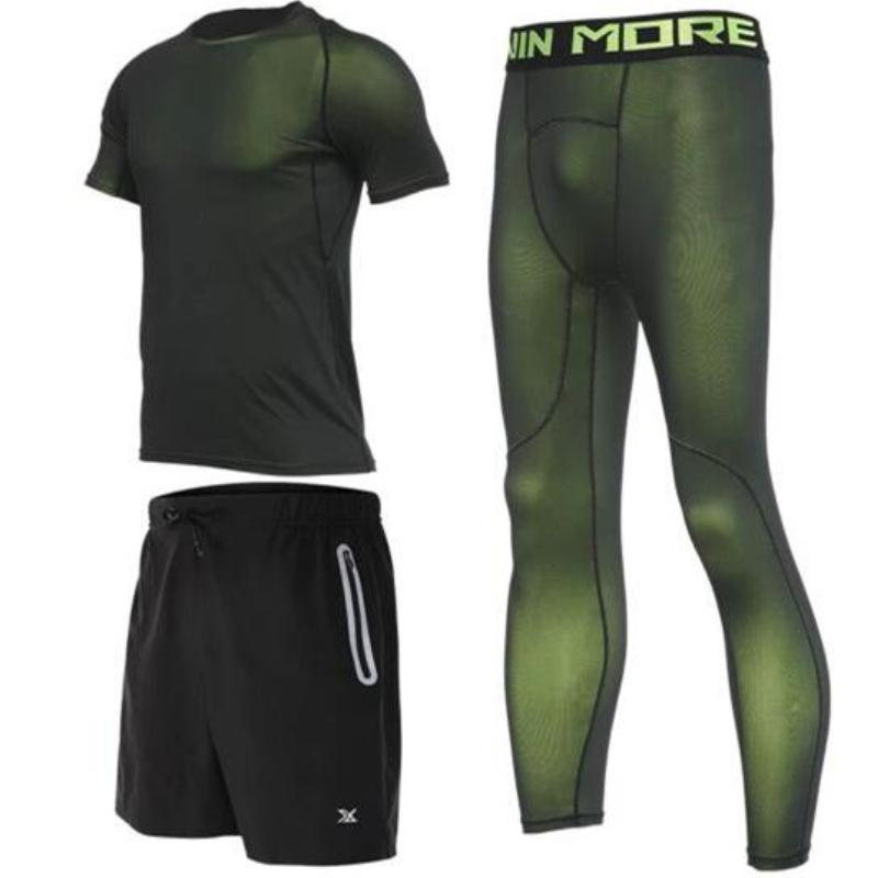 loomrack Men's Compression Full Sets Running Sets TC3423 / M