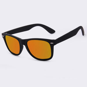 loomrack Men's Polarized Mirror Driving Sunglasses Sunglasses Orange Mirror