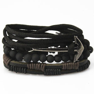 loomrack Multilayer Leather Bracelet for Men and Women Charm Bracelets Bracelet Style - 13