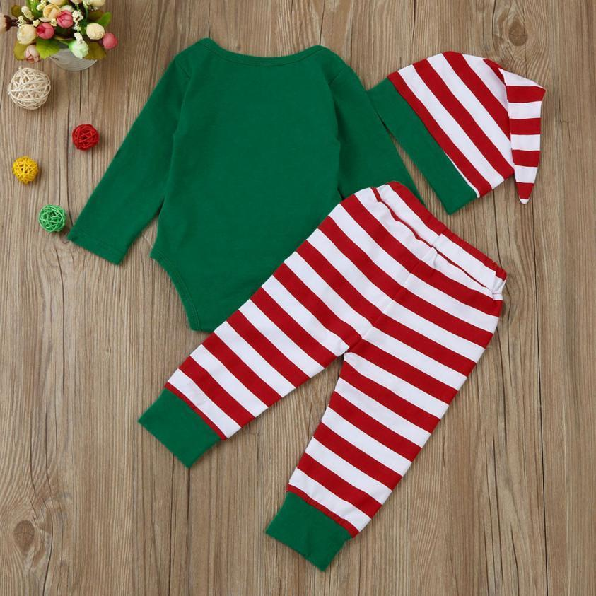 loomrack My First Christmas Baby Boy or Girl 3-Piece Set Baby Clothes