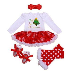 loomrack My First Christmas Baby Girl Outfit Baby Clothes as photo13 / 3M