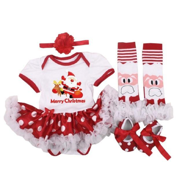 loomrack My First Christmas Baby Girl Outfit Baby Clothes as photo15 / 3M