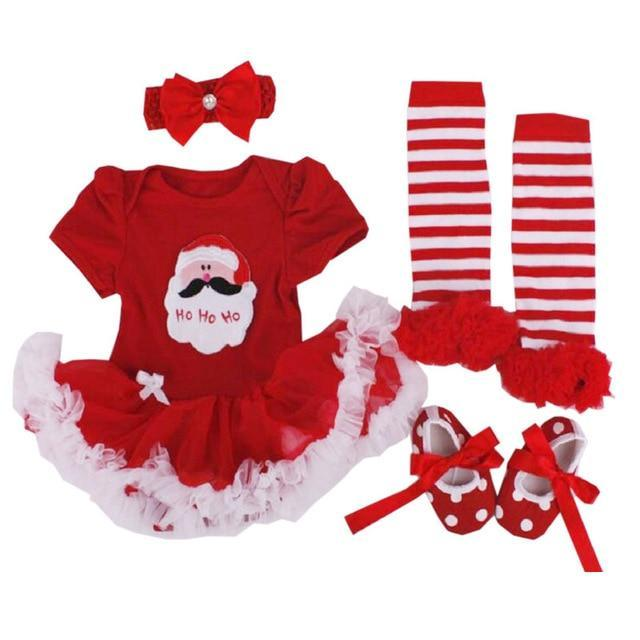 loomrack My First Christmas Baby Girl Outfit Baby Clothes as photo23 / 3M