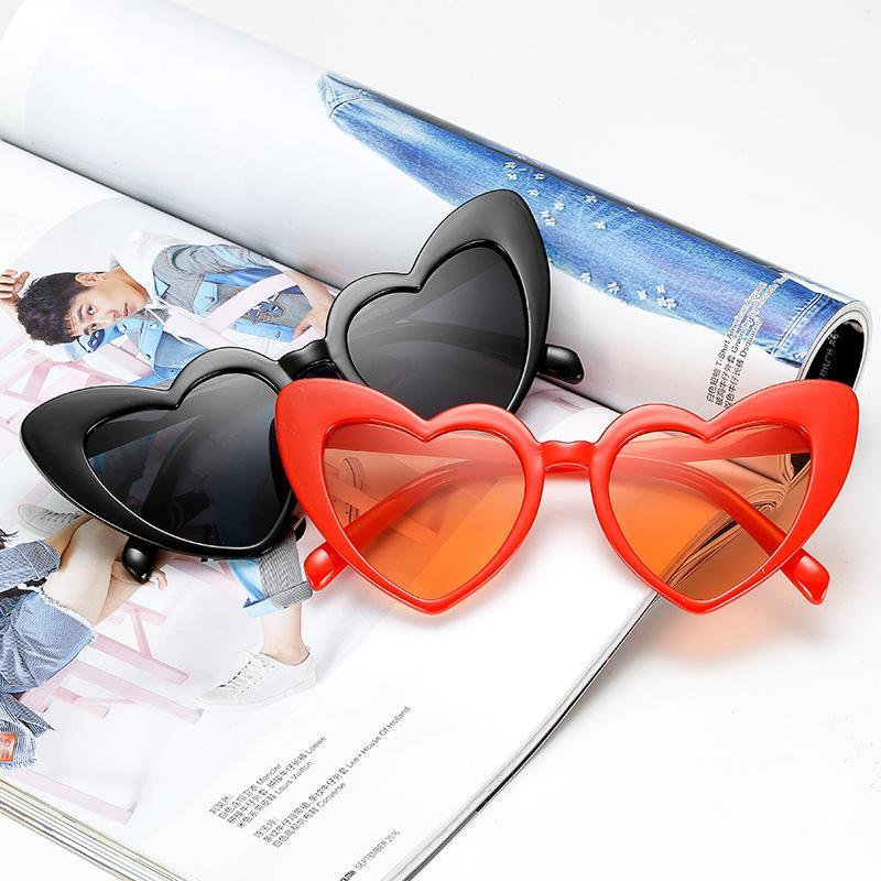 loomrack Pointed Cat Eye Heart Sunglasses Sunglasses