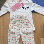 loomrack Pretty in Wink 3 Piece Baby Girl Set Clothing Sets