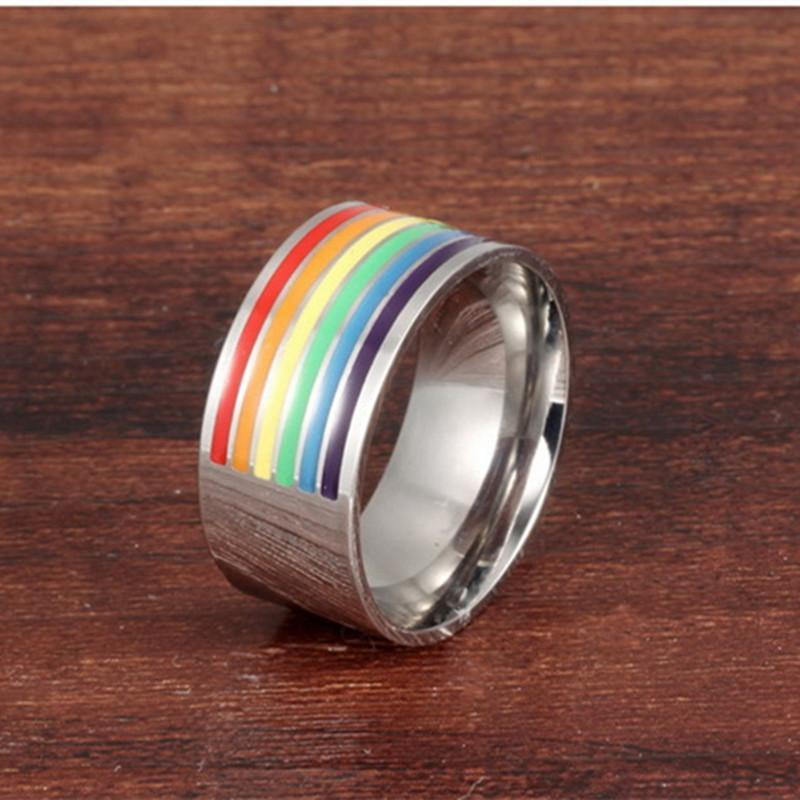 loomrack Rainbow Pride Ring Rings