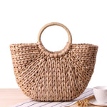 loomrack Rattan Tote Bag Top-Handle Bags A