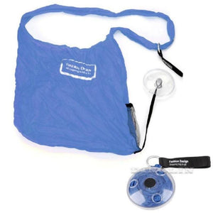 loomrack Retractable Storage Bag Travel Organizers Blue