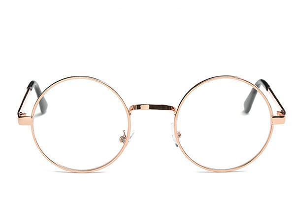 loomrack Round Small Frame Sunglasses Sunglasses Rose Gold