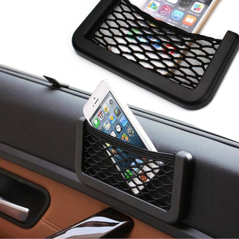 loomrack Self-Adhesive Car Mesh Organizer Bag