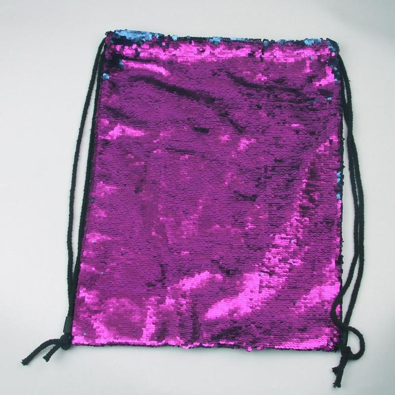 loomrack Sequin Drawstring Bag Backpacks
