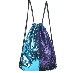 loomrack Sequin Drawstring Bag Backpacks B