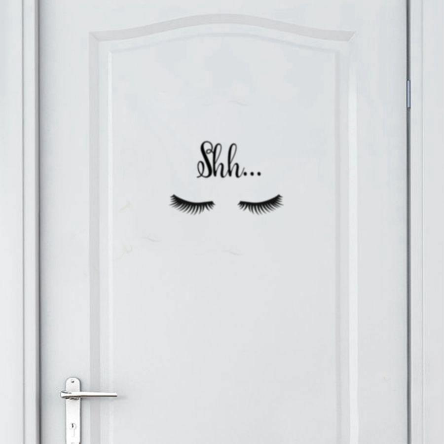 loomrack Shh Eye Wall Decal wall art